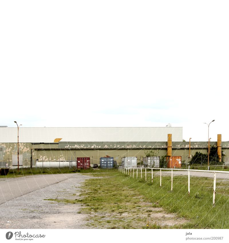 Work and employment Building Industry Places Gloomy Logistics Industrial Photography Factory Manmade structures Trade Parking lot Industrial plant Outskirts SME
