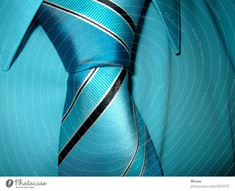 tie Elegant Style Masculine Adults Fashion Cloth Tie Stripe Rich Blue Obedient Smart Disciplined Belief Financial Industry Society Identity Reliability Future
