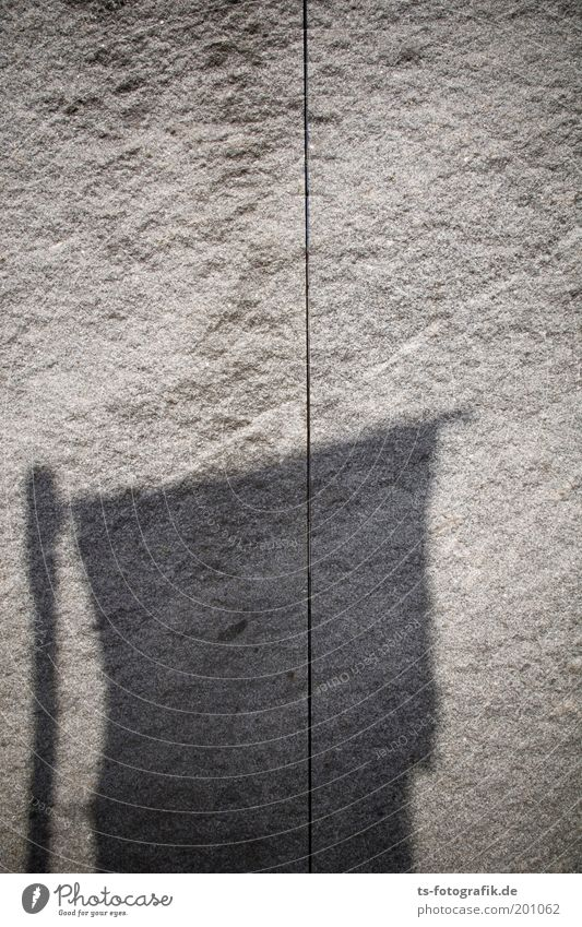 Granite I Bremen Wall (barrier) Wall (building) Tourist Attraction Landmark Sculpture Stone Line Flag Marble Monolith Shadow Dark Cold Dry Gray Flagpole Art