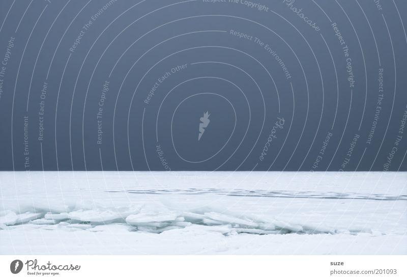 Sky Nature Blue Ocean Loneliness Winter Landscape Environment Dark Cold Snow Coast Air Horizon Line Ice