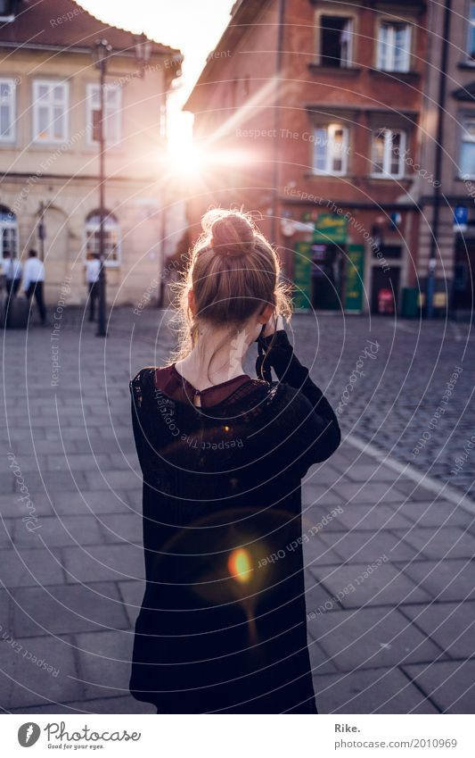 Capture light. Leisure and hobbies Vacation & Travel Tourism Trip Sightseeing City trip Summer Human being Feminine Young woman Youth (Young adults) 1