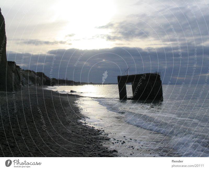 Water Ocean Beach Baltic Sea Surf Darss Dugout