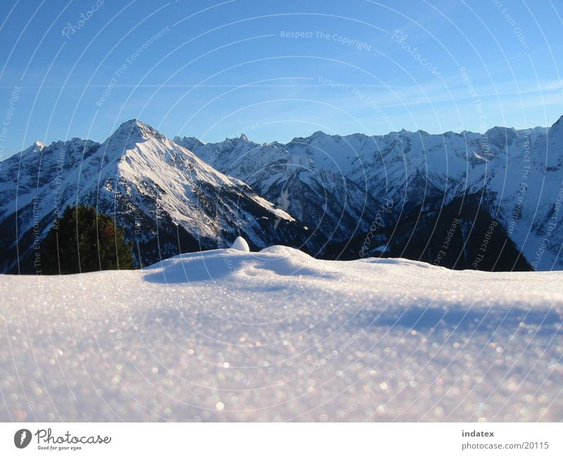 winter Winter Mountain Snow Nature