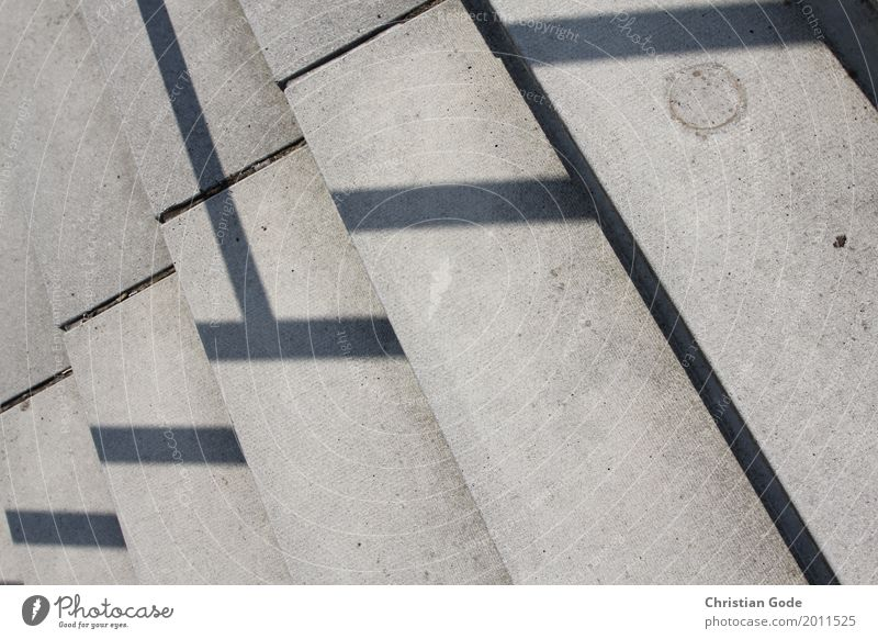 Town Architecture Wall (building) Wall (barrier) Gray Line Stairs Manmade structures Handrail Banister Geometry Outskirts Seam Shadow play Pecking order