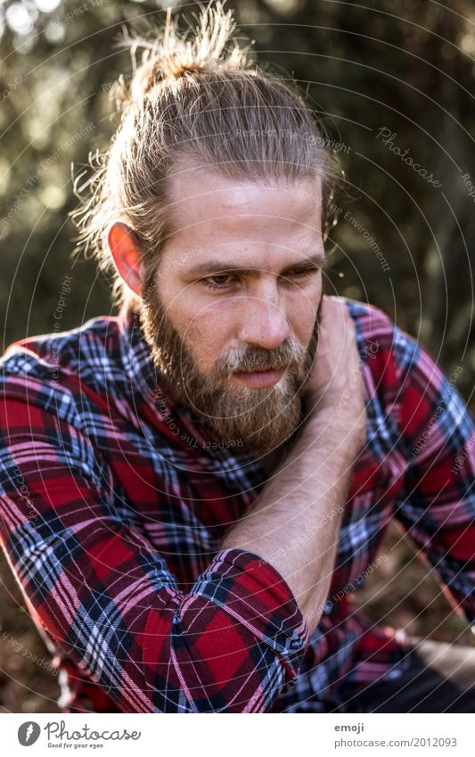 sundown Masculine Young man Youth (Young adults) Man Adults Face Facial hair 1 Human being 18 - 30 years 30 - 45 years Cool (slang) Life Hipster Checkered