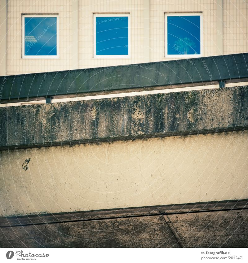 City House (Residential Structure) Street Wall (building) Window Stone Wall (barrier) Building Line Glass Concrete Transport Facade Gloomy Tile Square