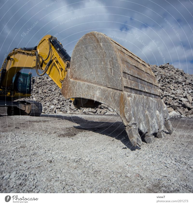 Dark Stone Wait Dirty Large Perspective Modern Growth Stand Authentic Change Construction site Strong Vehicle Aggression Equipment