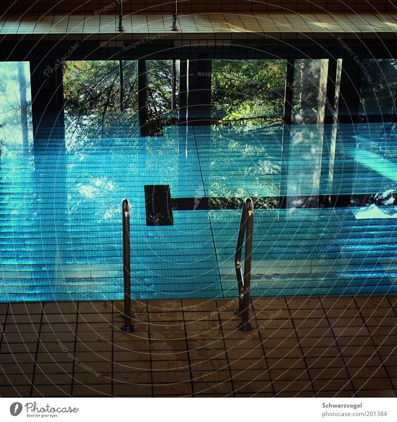dive in and find out Wellness Relaxation Calm Cure Spa Sports Aquatics Sporting Complex Swimming pool Fluid Fresh Blue Green Moody Pure Stagnating Colour photo