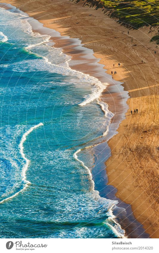 Beach Holidays Lifestyle Elegant Joy Wellness Vacation & Travel Trip Adventure Freedom Summer Summer vacation Sunbathing Ocean Island Waves Nature