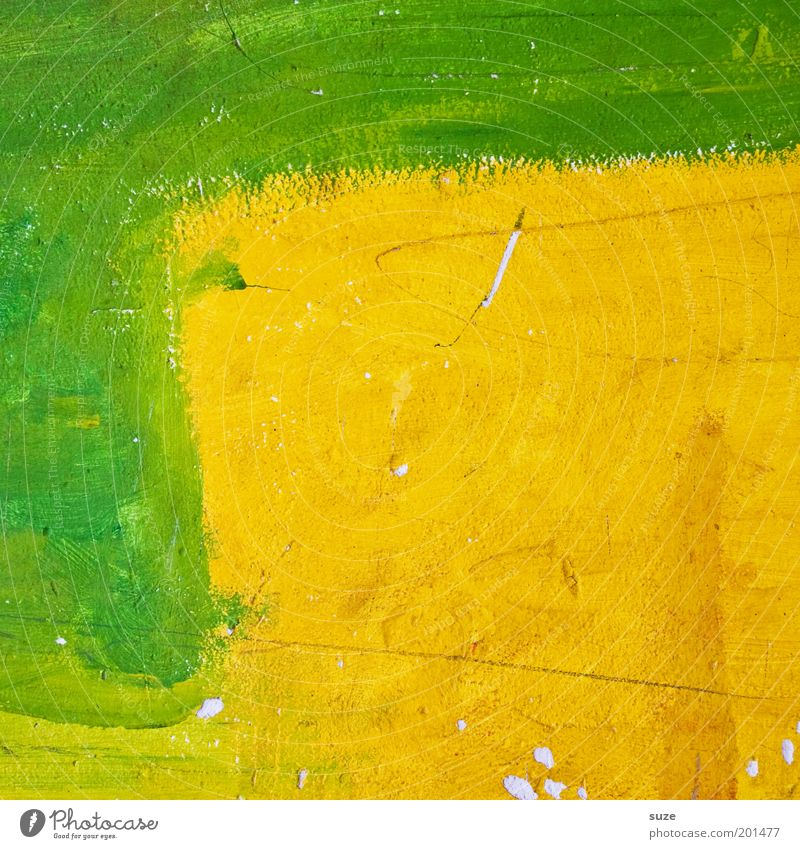 Green Colour Yellow Wall (building) Style Background picture Art Leisure and hobbies Design Illuminate Happiness Crazy Esthetic Creativity Uniqueness Painting (action, work)