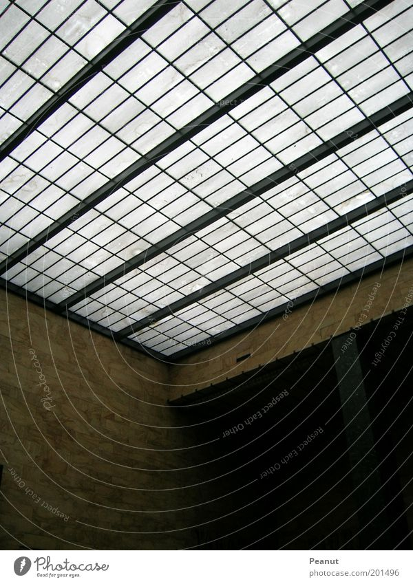 Window Wall (building) Architecture Building Wall (barrier) Glass Roof Train station Sharp-edged Venice Skylight Glas facade Italy