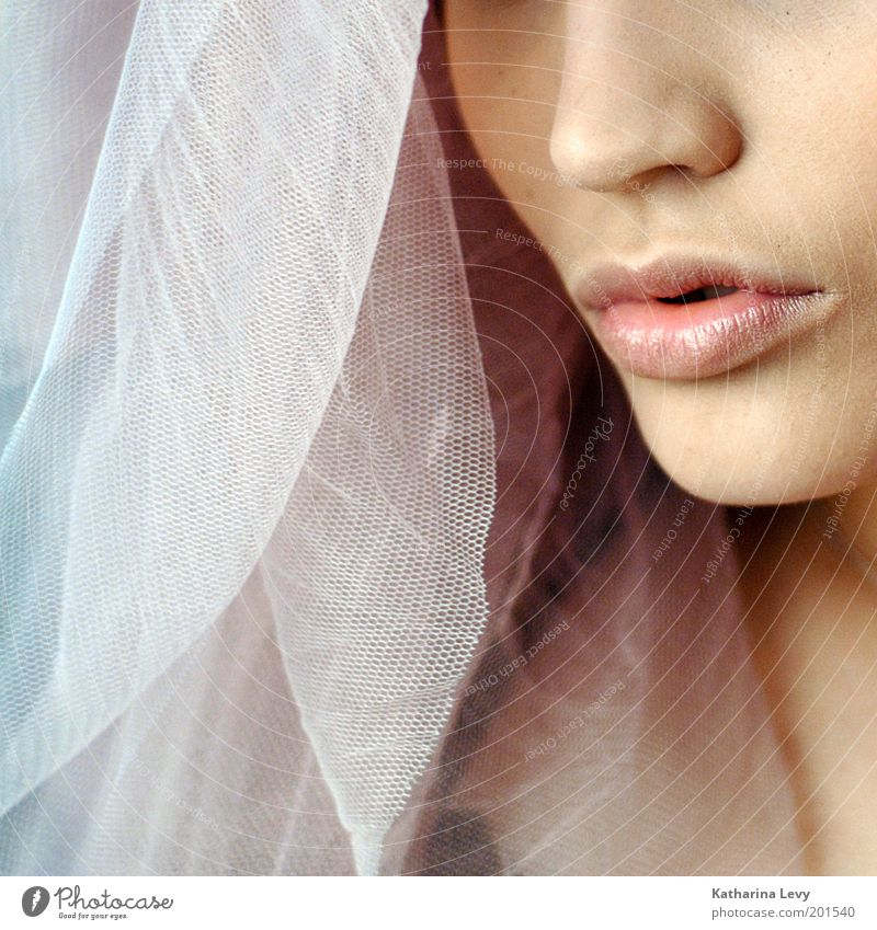 Woman Human being Youth (Young adults) Beautiful Adults Feminine Life Emotions Happy Religion and faith Dream Mouth Pink Elegant Nose Esthetic