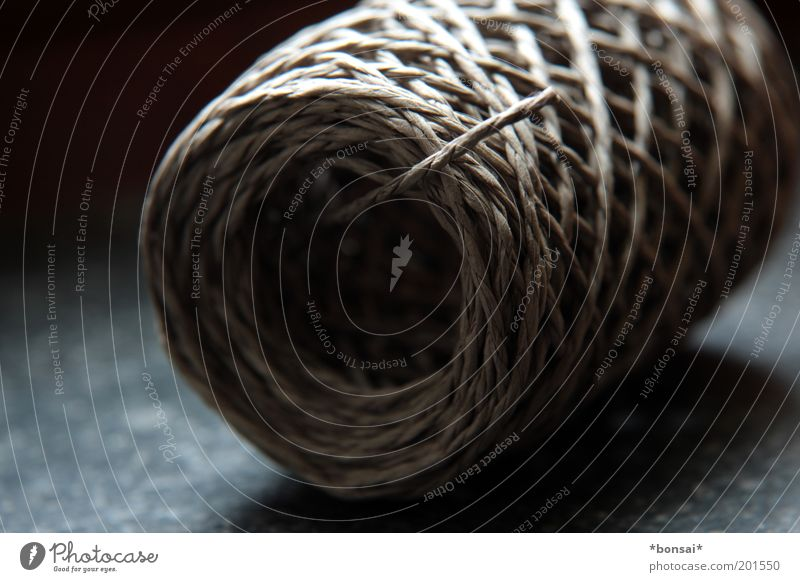 Gray Brown Force Arrangement New Simple Lie Thin Firm Long String Strong Coil Handicraft Household