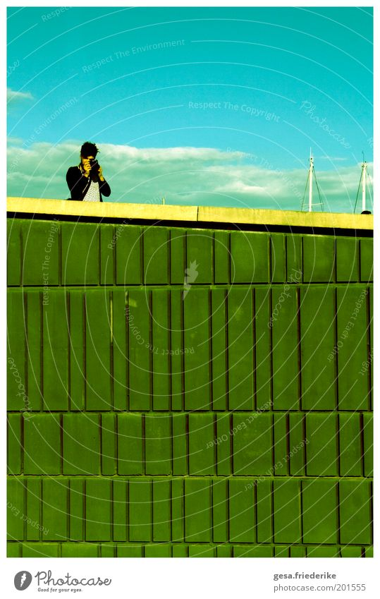 Sky Clouds Wall (barrier) Contentment Photography Exceptional Authentic Crazy Uniqueness Camera Tile Idea Photographer Take a photo Identity Profession