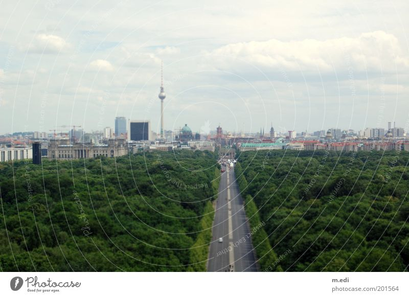 berlinmini Berlin Berlin TV Tower Downtown Berlin Berlin zoo Brandenburg Gate Straße des 17. Juni Reichstag Clouds Sky Park Panorama (View) Tree Uniqueness