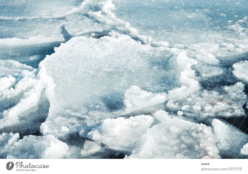 Baltic Sea ice Environment Nature Landscape Elements Water Winter Climate Climate change Ice Frost Snow Coast Ocean Exceptional Sharp-edged Fantastic Cold Wet