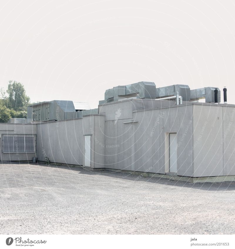 bunkers House (Residential Structure) Industrial plant Places Manmade structures Building Threat Gloomy Gray Dugout Military building Colour photo