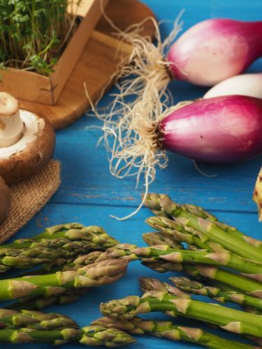 Healthy Food Nutrition Delicious Vegetable Organic produce Diet Vegetarian diet Wooden table Vegan diet Ingredients Holiday season Asparagus Gourmet