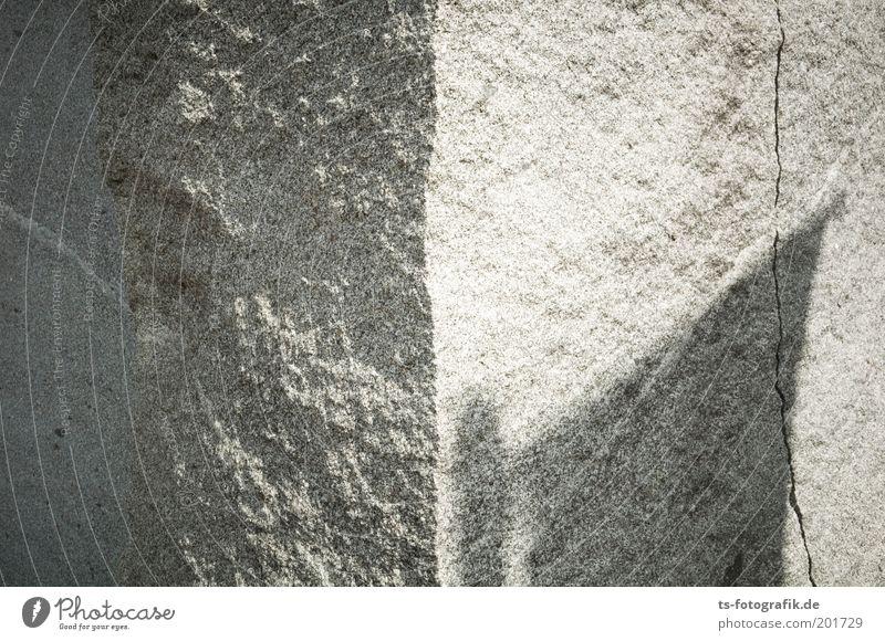 Cold Gray Stone Esthetic Corner Flag Pure Uniqueness Mysterious Exceptional Decline Dry Sculpture Elements Landmark Art
