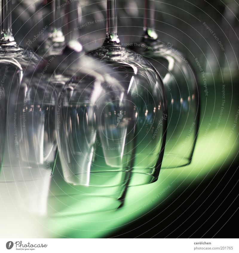 Green Black Gray Glass Glass Bar Gastronomy Restaurant Still Life Transparent Wine glass Suspended Roadhouse