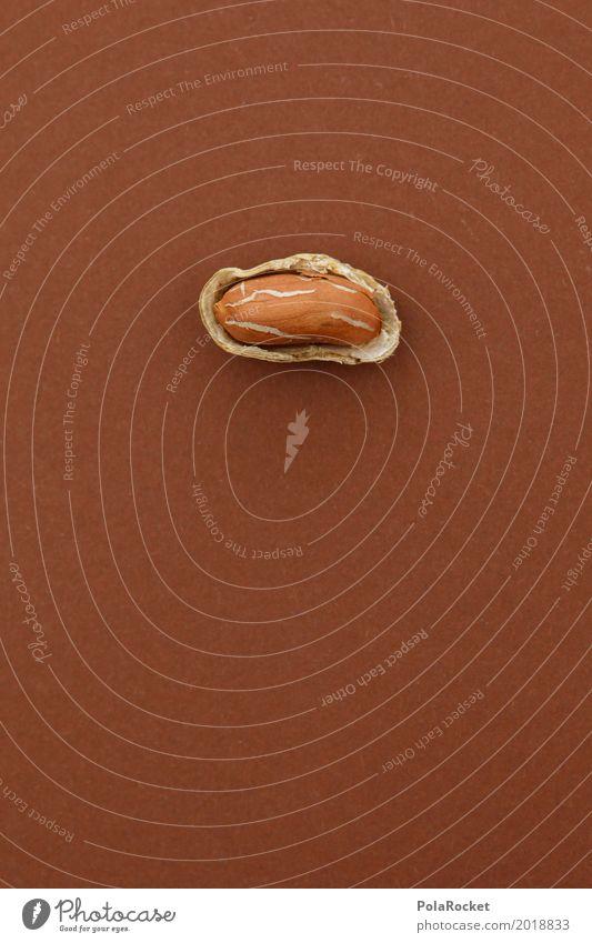 Healthy Eating Art Open Esthetic Delicious Work of art Nut Snack Peanut Nutshell Nut brown Peanut harvest