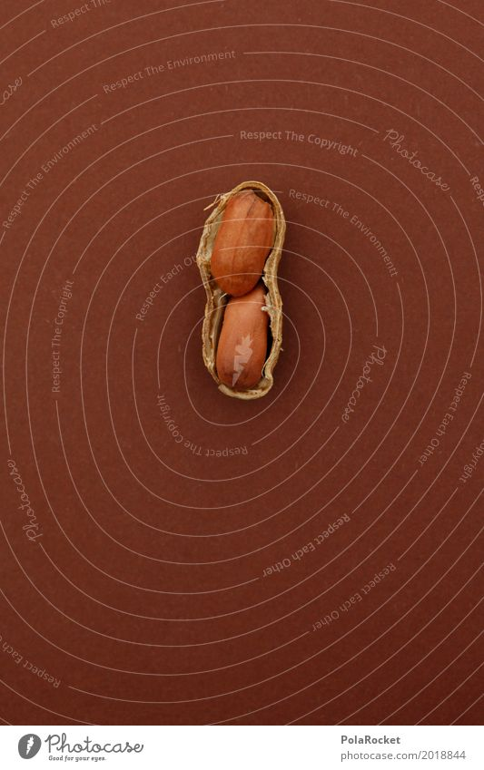 #A# Soft Core II Art Esthetic Nut Nutshell Peanut 2 Together Open Division Healthy Eating Delicious Snack Snackbar Brown Colour photo Subdued colour