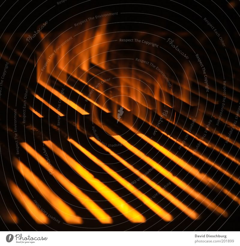 Red Black Yellow Warmth Orange Fire Hot Burn Flame Grating Barbecue (apparatus) Grid Heat Embers Grill Charcoal (cooking)