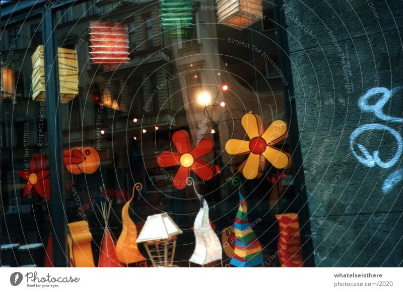 berlin3 Multicoloured Store premises Flower Architecture Graffiti