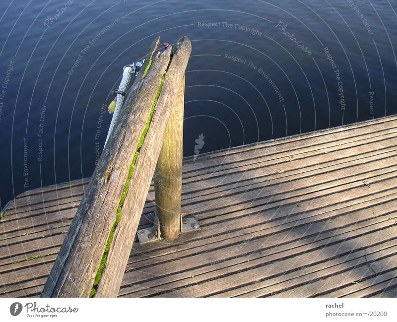 Nature Water Old Sun Joy Calm Relaxation Freedom Wood Lake Waves Rope Trip Break Broken