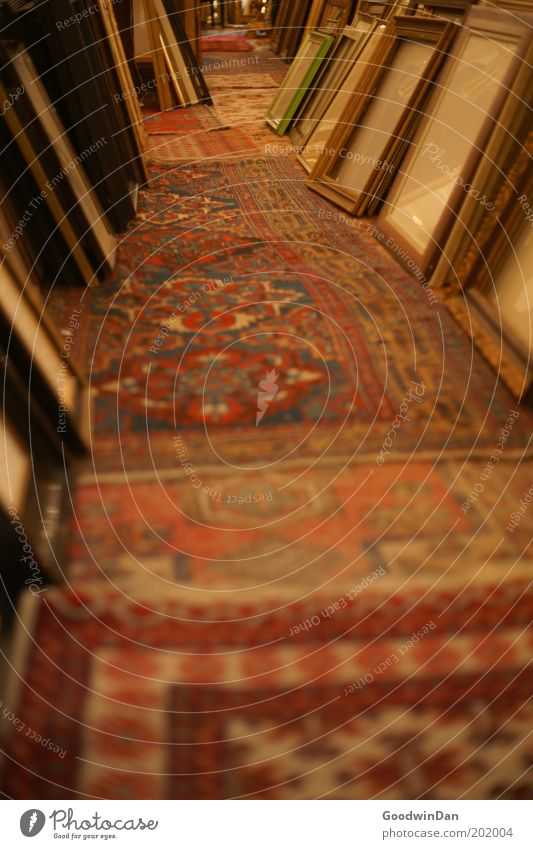 Old Gloomy Uniqueness Historic Select Ancient Carpet Frame Picture frame Pattern Storage Selection Judicious