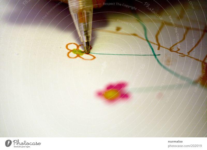Beautiful Flower Joy Colour Emotions Art Infancy Leisure and hobbies Gold Esthetic Paper Lifestyle Uniqueness Decoration Desire Kitsch