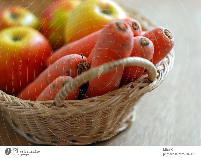 Old Nutrition Healthy Food Fruit Putrefy Apple Vegetable Delicious Appetite Diet Organic produce Basket Juicy Carrot Fasting