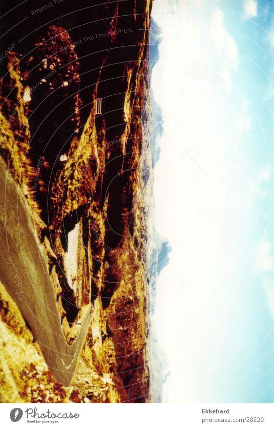 Scotland_08 Highlands Mountain Nature Landscape