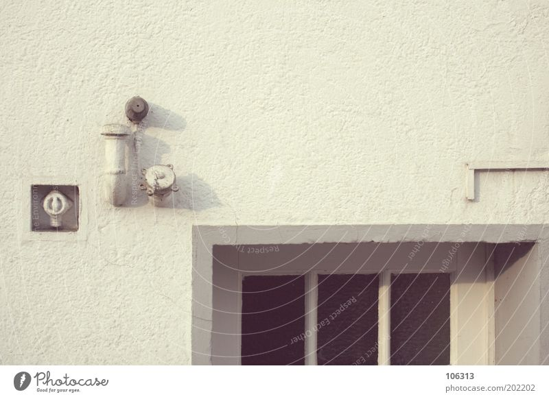 Photo number 158691 House (Residential Structure) Facade Door Safety Perspective Entrance Part Conduit Switch Ventilation shaft White Empty Flat (apartment)