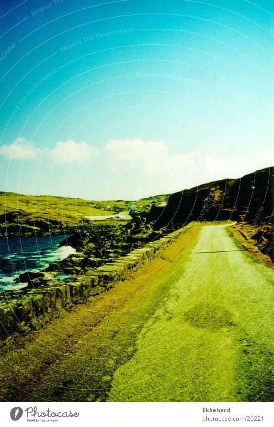 Scotland_09 Highlands Mountain Nature Landscape