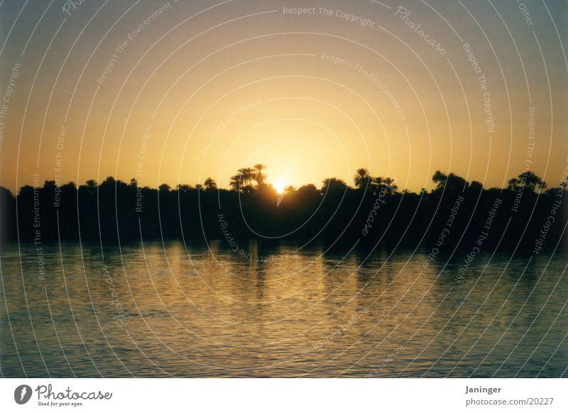 Landscape Contentment Egypt Nile