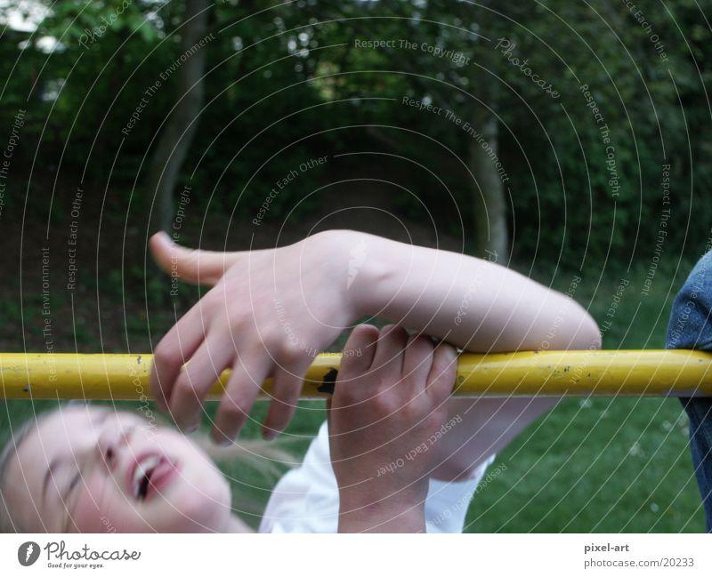 slipped Child Girl Slipped off Accident Playground