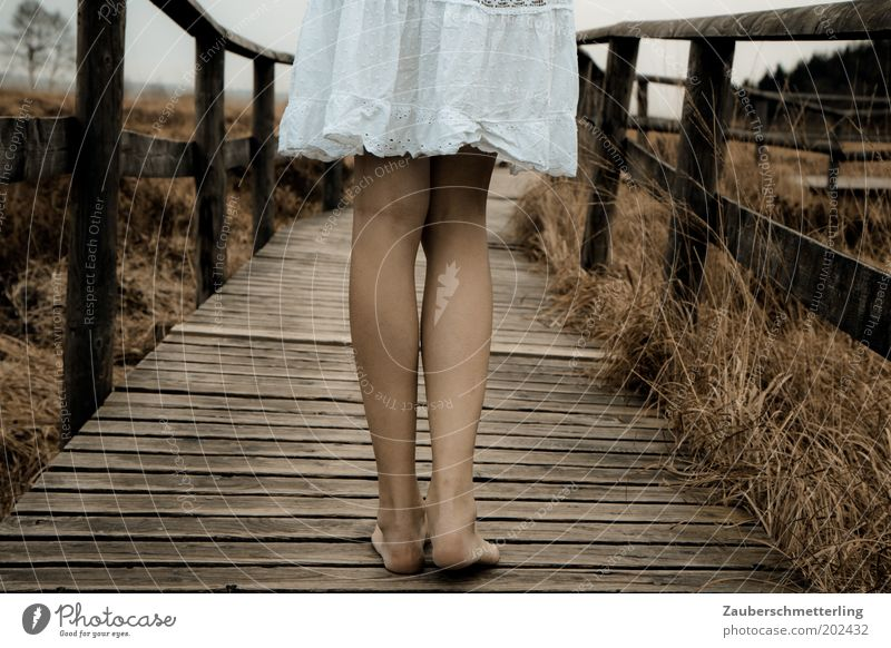 Nature Youth (Young adults) White Summer Cold Feminine Feet Lanes & trails Legs Moody Wait Adults Stand Near Soft Authentic