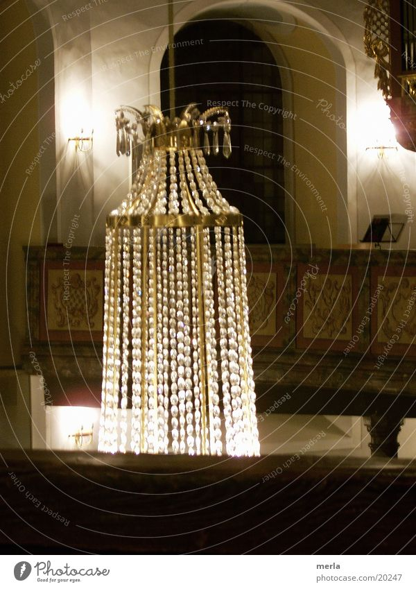 Bright Religion and faith Glittering Drape Hang Blanket Crystal structure Gallery House of worship Chandelier