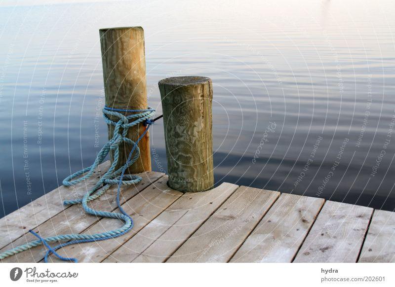Nature Blue Water Summer Ocean Calm Wood Freedom Coast Island Rope Safety Harbour Peace Navigation Footbridge