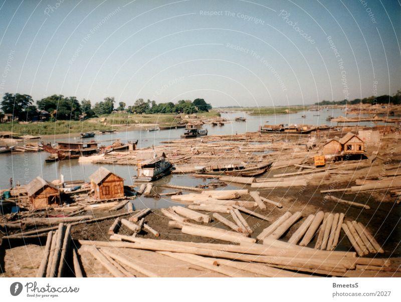 Myanmar/Burma Watercraft Asia River