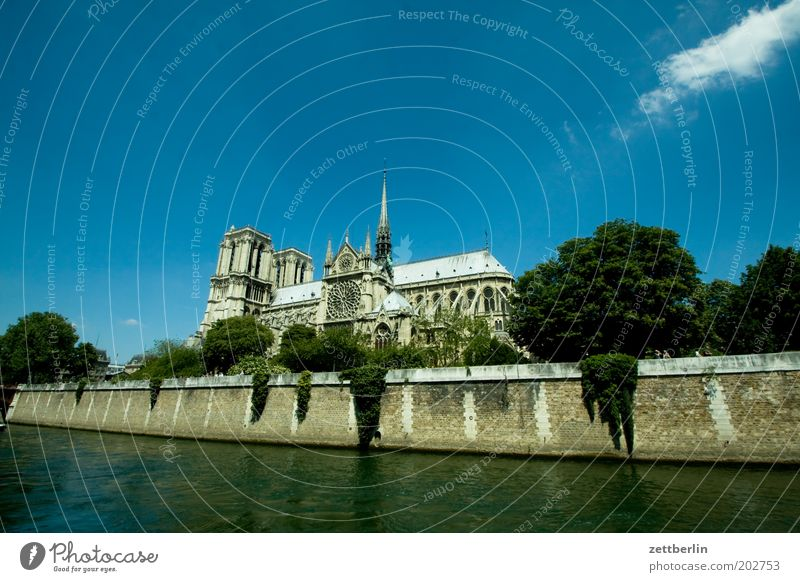 Sky Summer Vacation & Travel Architecture Religion and faith Tourism Church River Tower Travel photography Manmade structures Paris France Dome Christianity