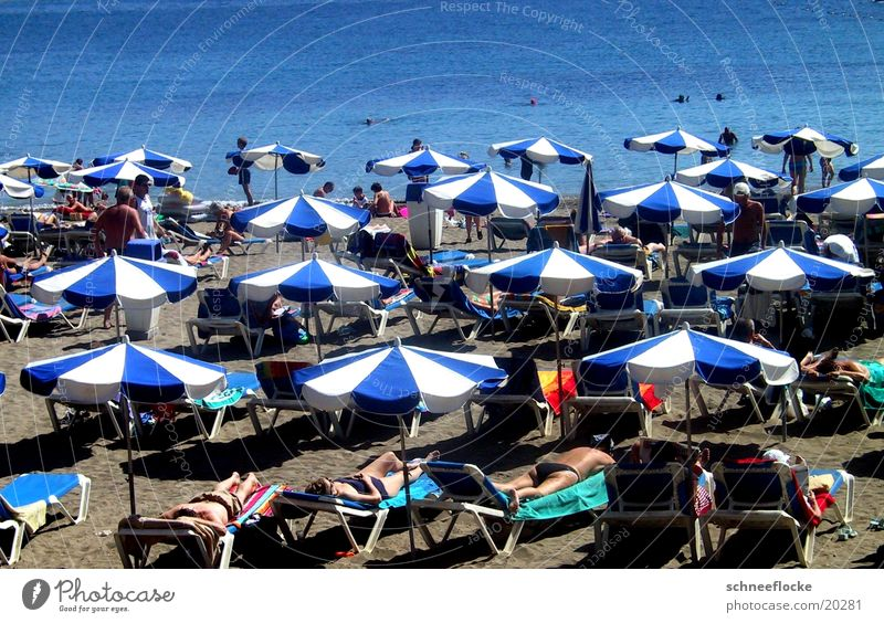 Sun Ocean Blue Vacation & Travel Relaxation Sand Tourism Sunshade