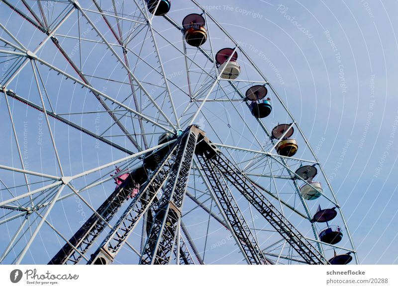 Ferris wheel Leisure and hobbies Aviation Sky Tall
