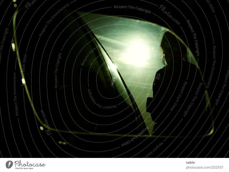 Human being Sky Vacation & Travel Black Dark Freedom Car Glittering Trip Illuminate Stand Joie de vivre (Vitality) Motoring Wanderlust Homesickness