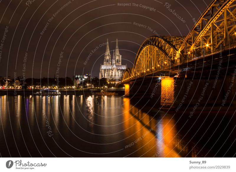 Cologne Cathedral Germany Downtown Old town Skyline Populated High-rise Dome Harbour Bridge Manmade structures Building Architecture Tourist Attraction Landmark