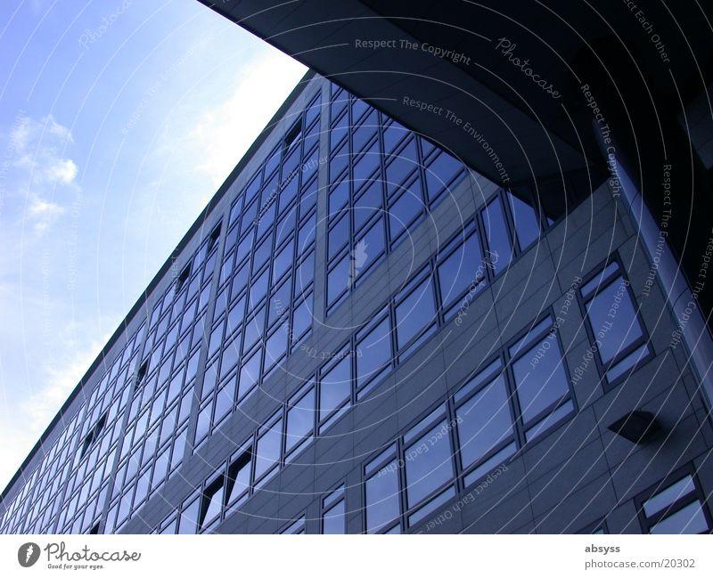 Sky Sun Blue Window Building Architecture Glass Modern Beautiful weather Stuttgart