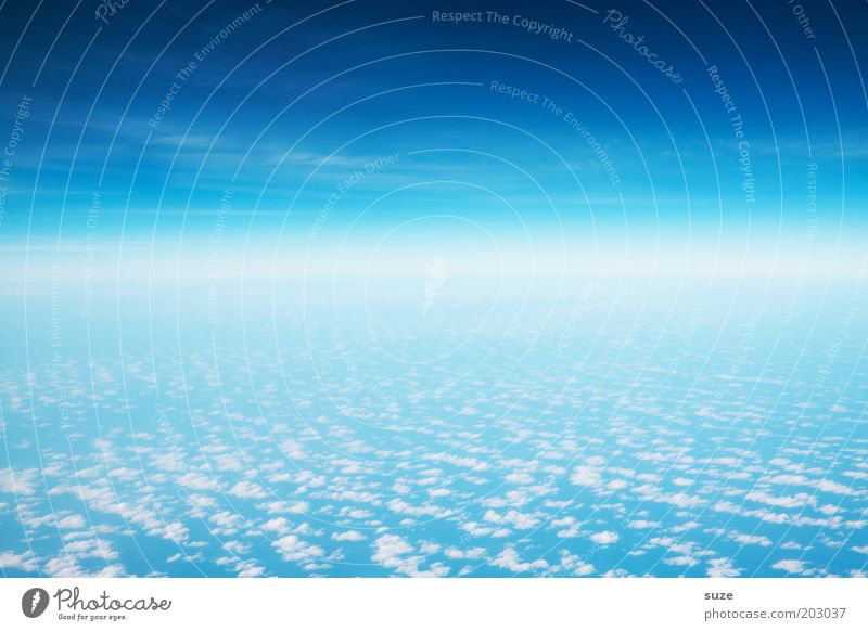 Nature Sky Blue Clouds Landscape Air Earth Environment Flying Free Horizon Climate Infinity Illuminate Universe Hover