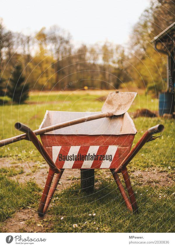 "<font color=""#ffff00"">-=auf´m=- sync:ßÇÈâÈâ Tool Machinery Construction machinery Red Wheelbarrow Shovel Construction site Grass Dirty Rebuild"