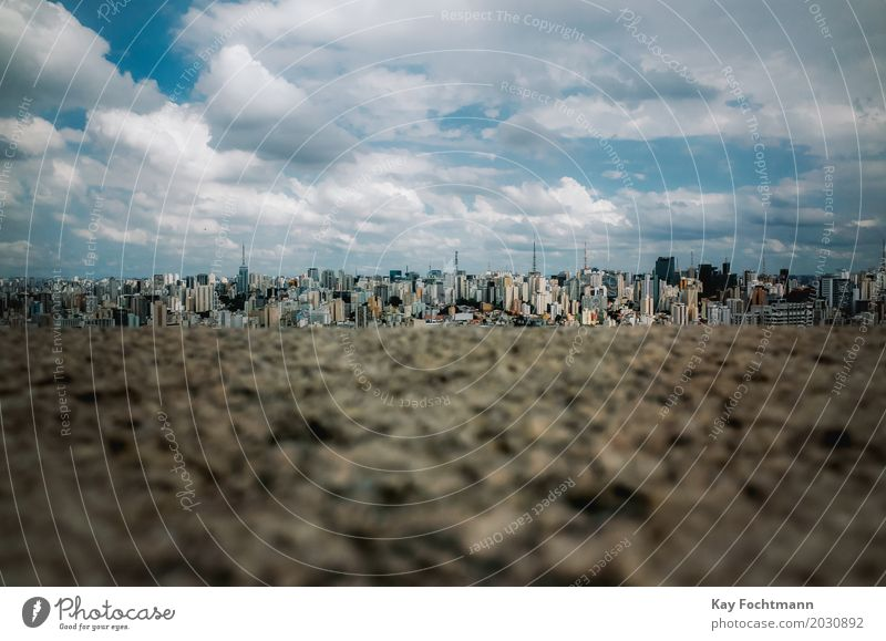 sampa Vacation & Travel Tourism Trip Far-off places Sightseeing City trip São Paulo Brazil South America Town Skyline Overpopulated High-rise Building